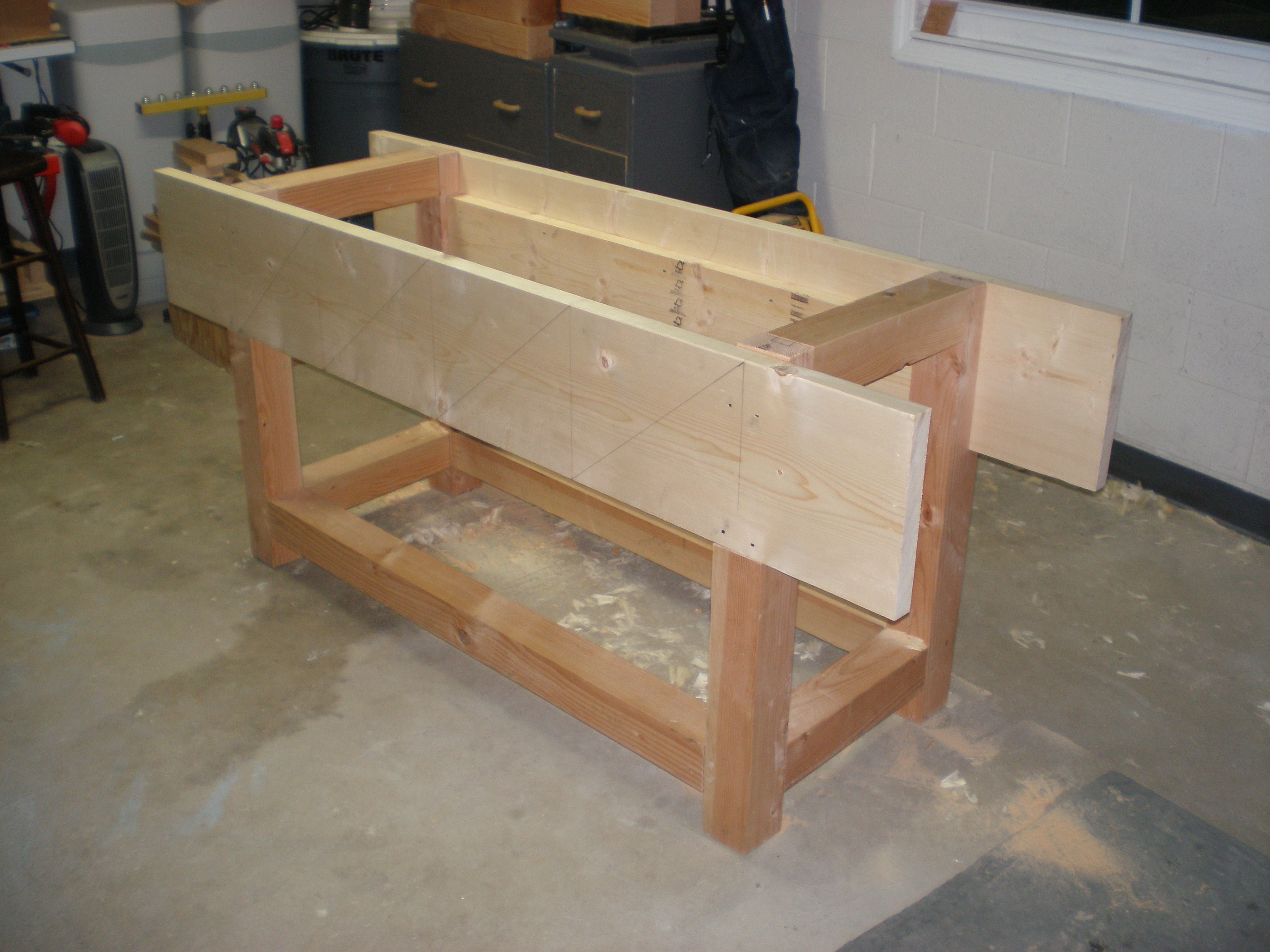 Woodworking woodworking bench parts PDF Free Download